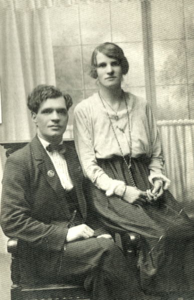 Thomas Samuel and Gertrude Catherine Cooper