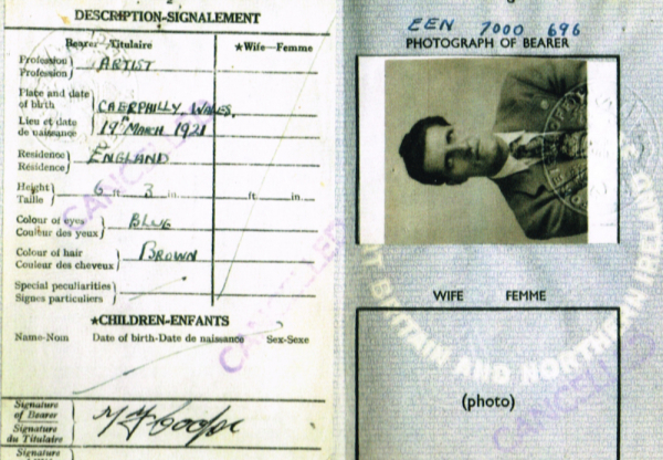 Passport from the 1950s proving Date of Birth